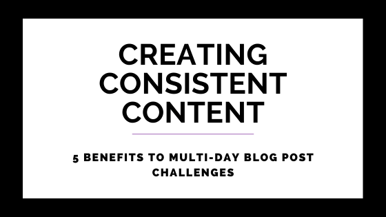 5 Benefits To Multi-Day Blog Post Challenges on Quest for $47 Header