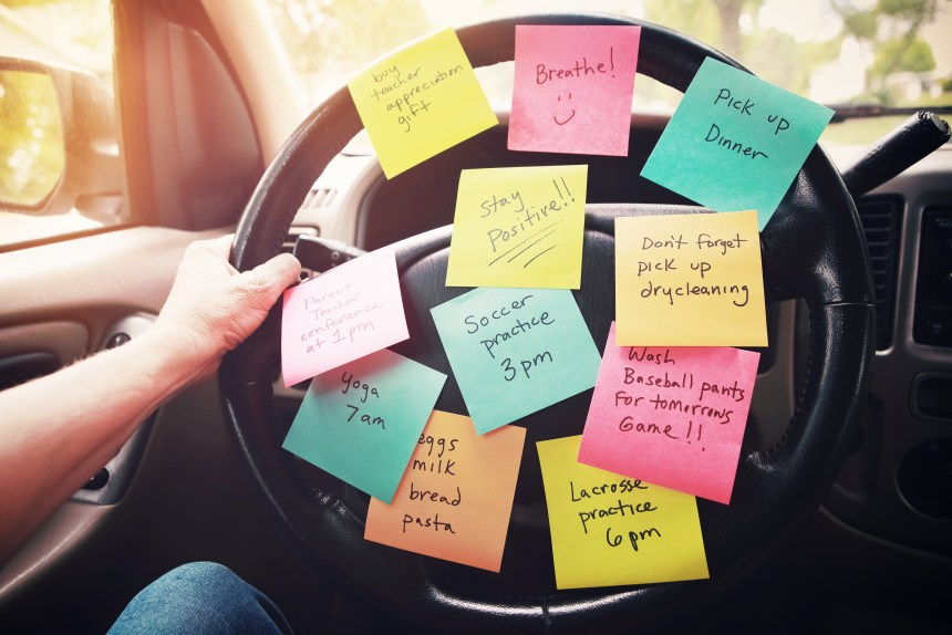Do you feel overwhelmed? Do you make lists to keep you organized, but find that they aren't helping. You are not alone
