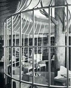The Birdcage - designed by Raymond Lowey