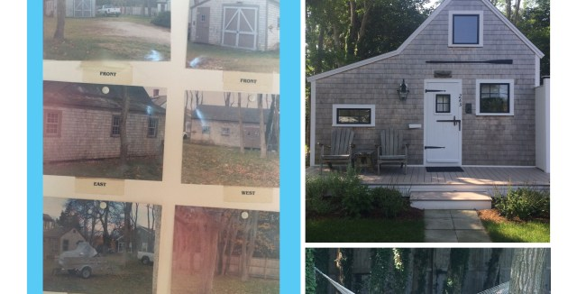 Surf Shack Before and After