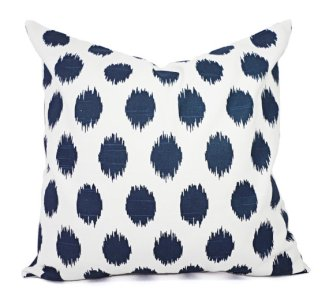 Polka Dot Pillow . Etsy