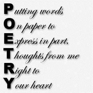 Poetry Webquest: Process