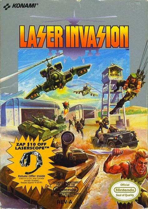 Laser-Invasion