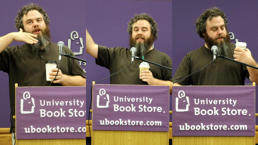 3 Coffess of Patrick Rothfuss