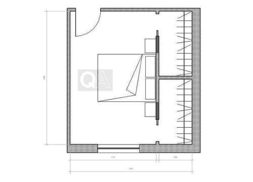 Come realizzare una cabina armadio questioni di arredamento - Misure cabine armadio ...