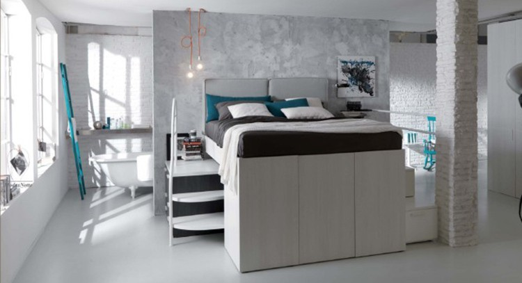 Progetti Camere Da Letto Piccole : Camera da letto piccola come arredarla questioni di arredamento