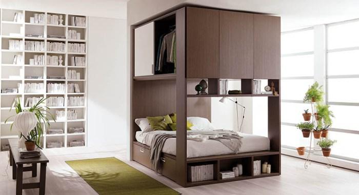Camera da letto piccola come arredarla questioni di for Camera da letto studio