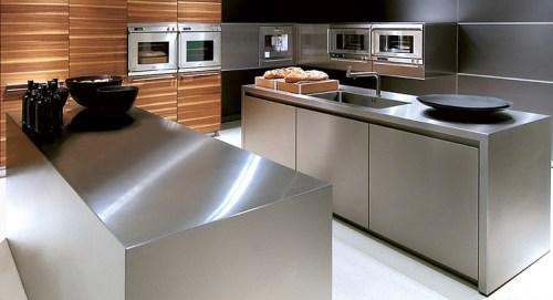 Cucina Piano Lavoro.Piano Lavoro Cucina Acciaio Inox Questioni Di Arredamento