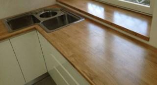 Piano lavoro in legno. - Questioni di Arredamento