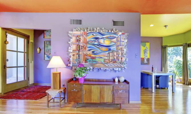 Mobili oggetti tessuti pareti devono essere ben coordinati nei colori basta davvero poco per - Arredare casa spendendo poco ...