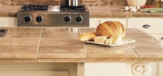 Top cucina piastrellato 320x150 Home