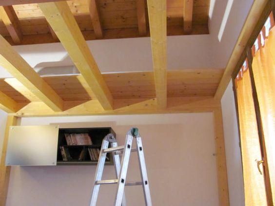 Costruire soppalco letto un soppalco fai da te il - Costruire letto in legno ...