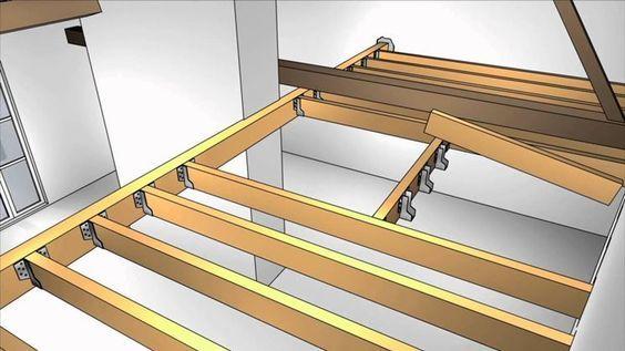 Come realizzare un soppalco in legno questioni di - Tracce su muri portanti ...