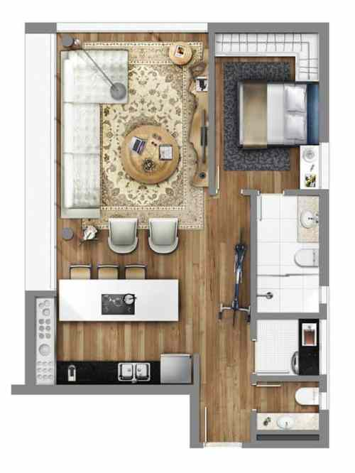 Casa piccola arredamento consigli e soluzioni for 2 bagni piccola casa