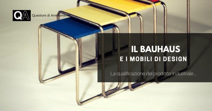 Repliche Mobili Bauhaus.Il Bauhaus E I Mobili Di Design Questioni Di Arredamento
