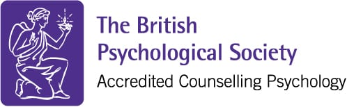 Accredited Counselling Psychologist by the British Psychological Society