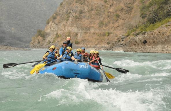 adventure activities in rishikesh