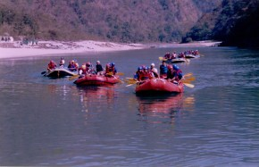 Rafting trip to Rishikesh