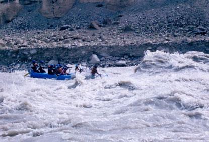 Rafting Adventure Trip to Ladakh