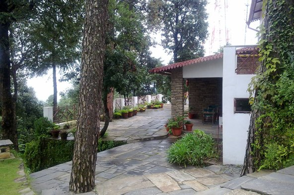 best hotel in binsar