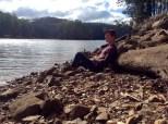 Sheffield Lake, Tasmania