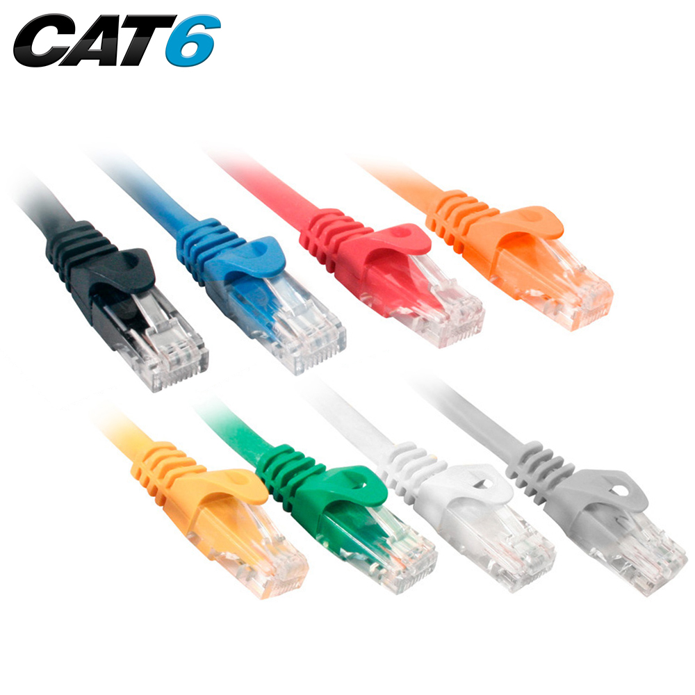 medium resolution of cat6 utp 550mhz snagless molded patch cord