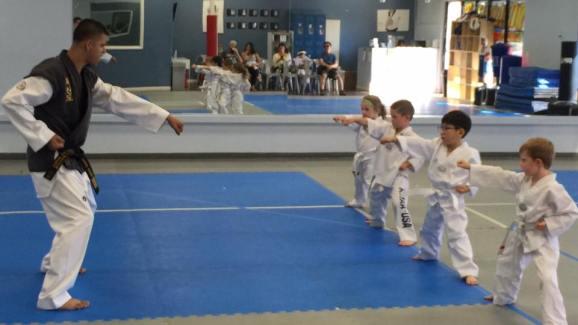 little kids taekwondo