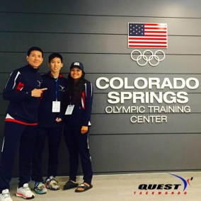 Fight Team at Olympic Training Center