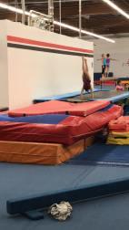 gymnastics handstand