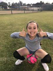 soccer thumbs up