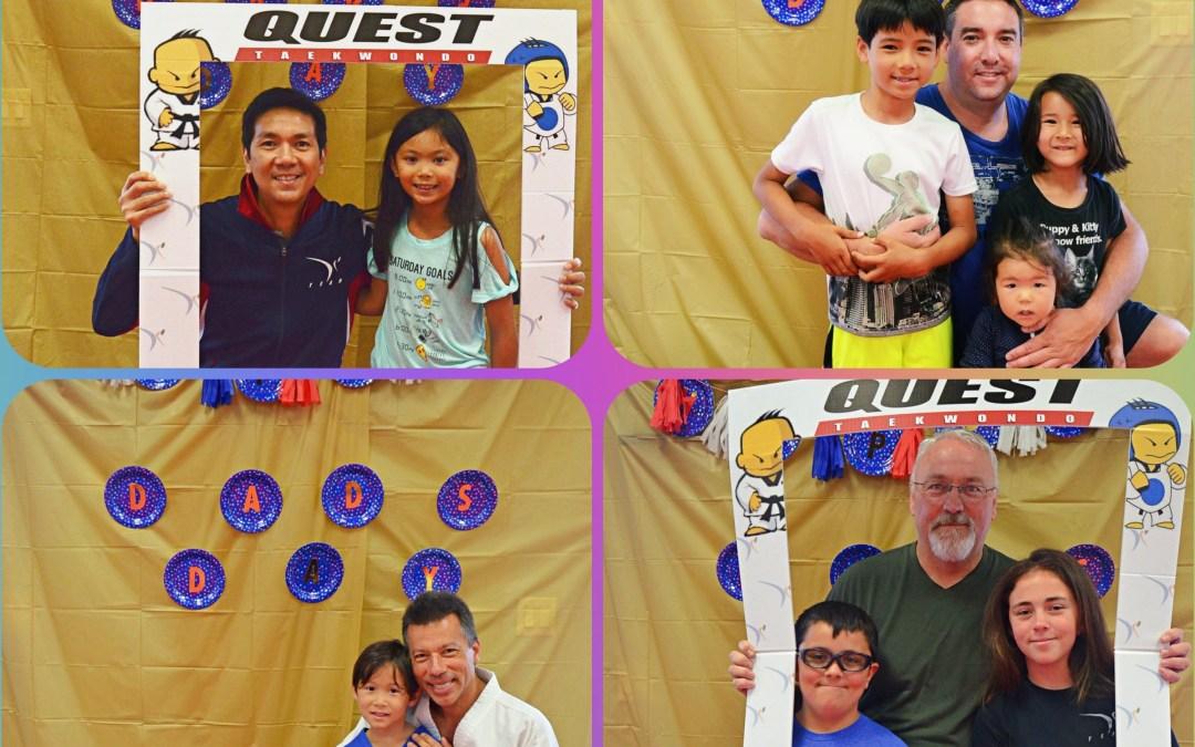 Daddy & Me TKD Class – June 16, 2018