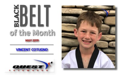 Black Belt of the Month: Vincent Cotugno
