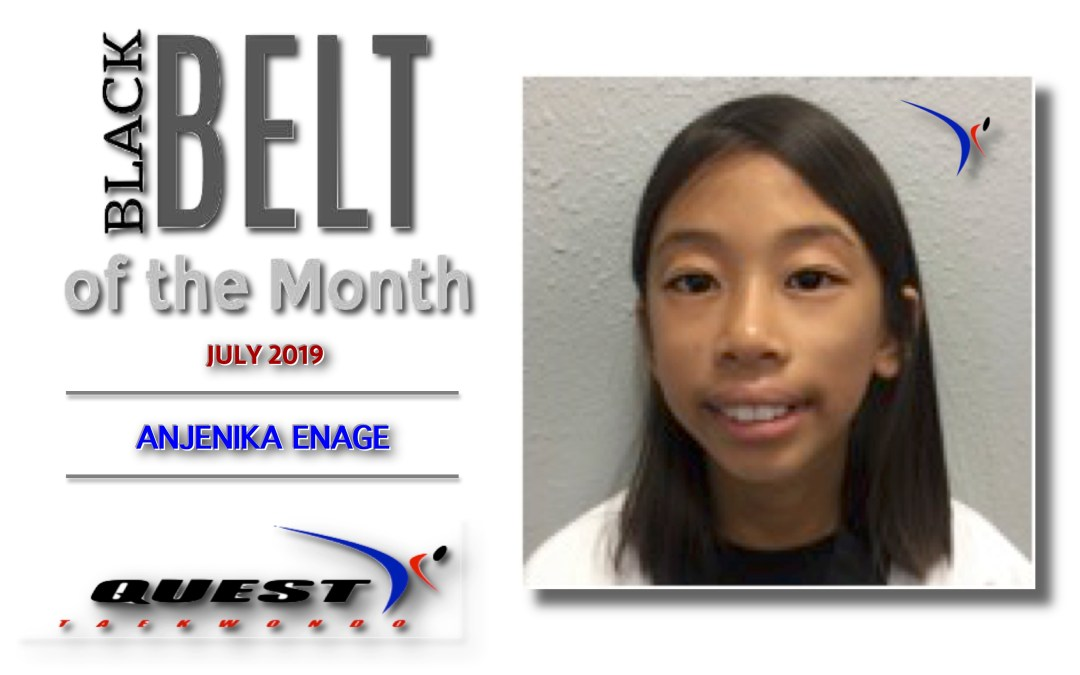 Black Belt of the Month: Anjenika Enage