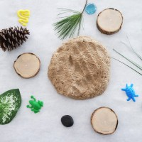 Creating inside fun with Sand Play Dough