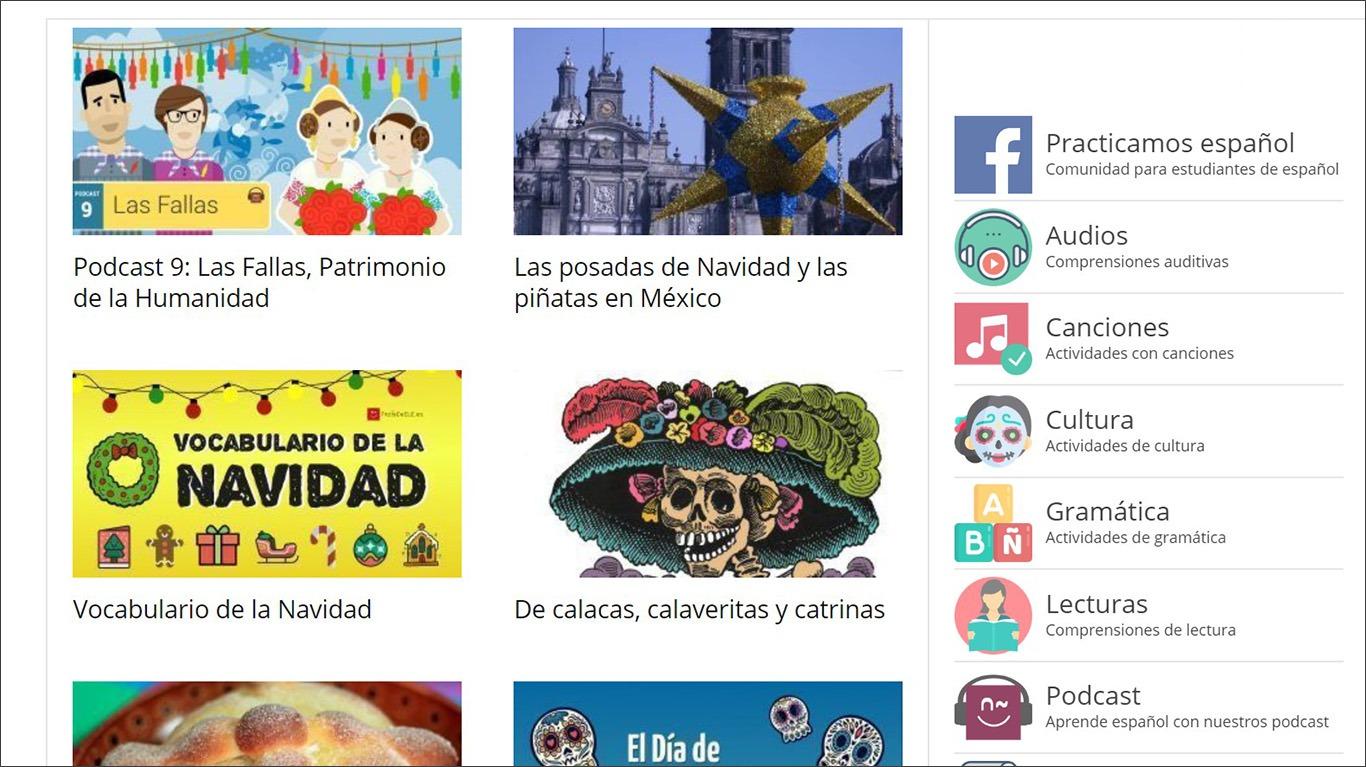 Ресурс з матеріалами для викладачів іспанської мови Profe de ELE