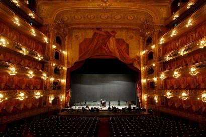 Interior do Teatro Colón