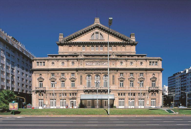 Fachada do Teatro Colón