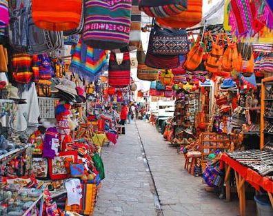 Mercado Central de San Pedro, Cusco. Fonte: Pinterest