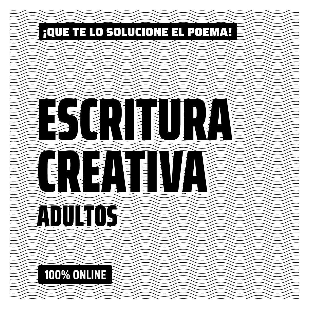 Escritura Creativa Adultos | 100% Online