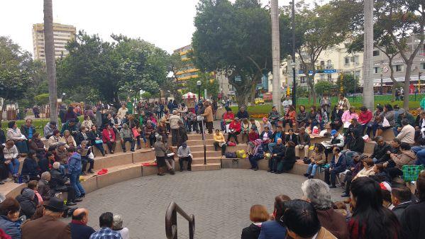 Lima Parque Kennedy