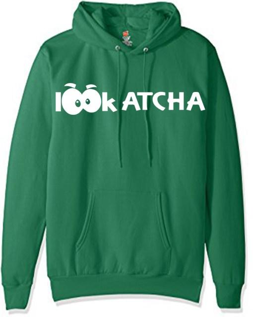 Lookatcha_MOCK_HOODIE_Green