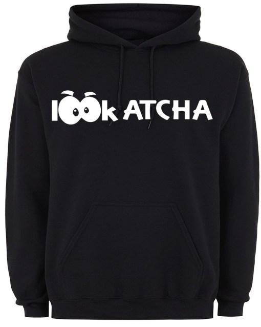 Black Lookatcha Hoodie