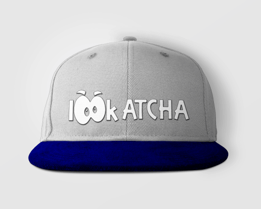 Heather:Navy Lookatcha Mock