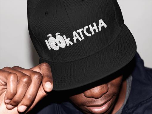 lookatcha black cap