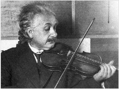 Einstein y su violin