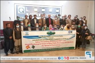 hard balochistan corona virus session Quetta index 01