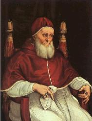Renaissance Faires: STÄDEL PURCHASES PORTRAIT OF POPE JULIUS II BY RAPHAEL AND WORKSHOP