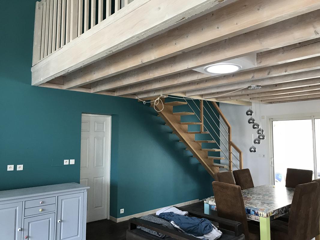 rénovation salon peintre décorateur bordeaux