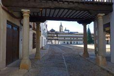Plaza Mayor de Tembleque, una de las más bellas de Castilla La Mancha