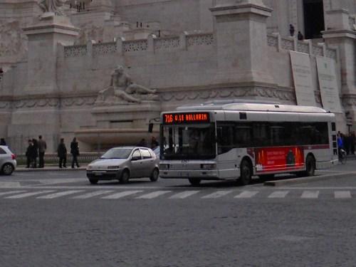 Autobús urbano de Roma